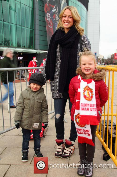 Manchester United, Jacey Carrick, Lisa Carrick and Louise Carrick 7