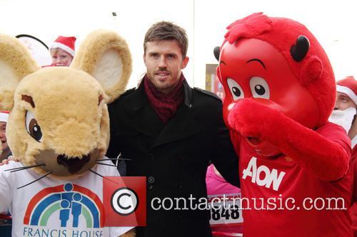 Manchester United Foundation Santa Run