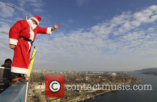 Bulgaria Santa Claus Bungee Jump