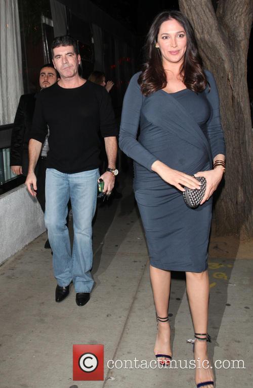 Simon Cowell and Lauren Silverman 4