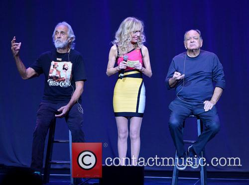 Tommy Chong, Shelby Chong and Cheech Marin 2