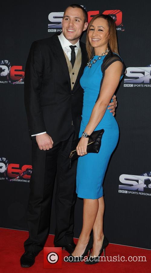 Jessica Ennis and Andy Hill 5