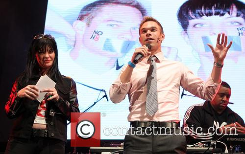 Pauley Perrette and Nick Symmonds 3