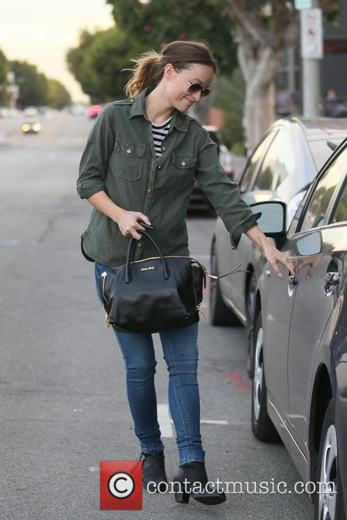 Olivia Wilde Leaving Lunch At Cafe Gratitude