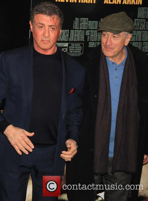 Sylvester Stallone and Robert De Niro 5