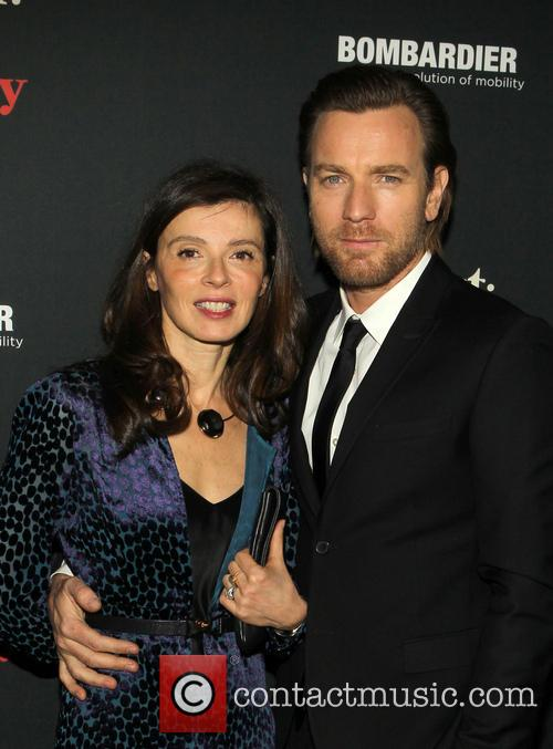 Ewan McGregor and Eve Mavrakis 1
