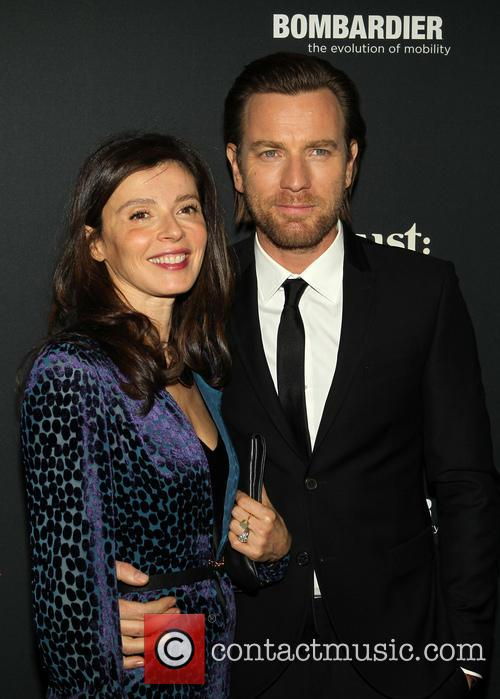 Ewan McGregor and Eve Mavrakis 7