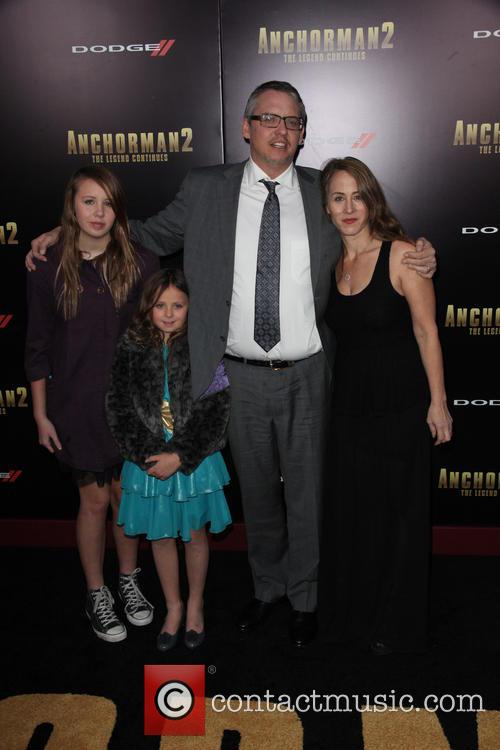 Adam Mckay and And Family 2