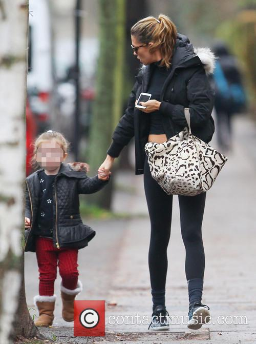 Abbey Clancy and Sophia Ruby 5