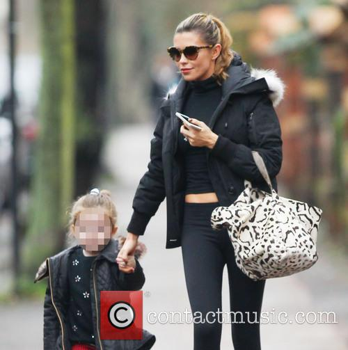 Abbey Clancy and Sophia Ruby 9