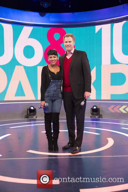 Meagan Good and Will Ferrell 3