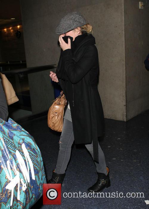 Christina Applegate At LAX