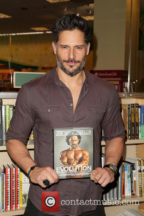 Joe Manganiello Book Signing