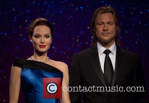 Angelina Jolie, Brad Pitt, Madame Tussauds