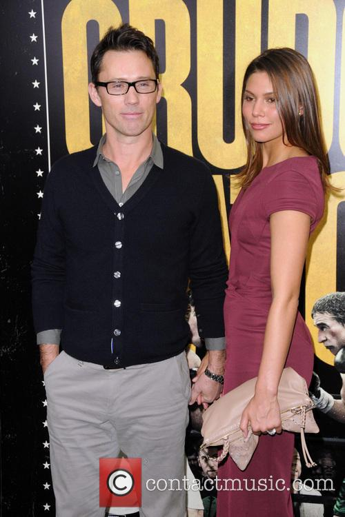 Jeffrey Donovan and Michelle Woods 1