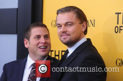 Jonah Hill Wolf Of Wall St Leonardo DiCaprio