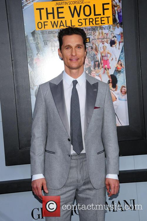 matthew mcconaughey us premiere of the wolf 4002283