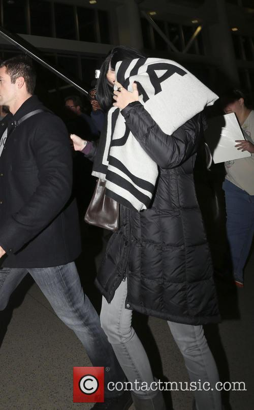 Katy Perry At LAX