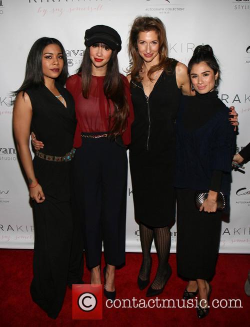 Jessica Pimentel, Jackie Cruz, Alysia Reiner and Diane Guerrero