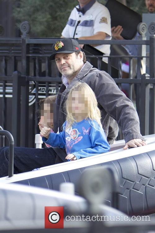 Vince Vaughn and Lochlyn Kyla Vaughn 4