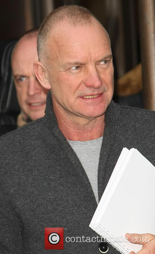 Sting and Gordon Sumner 4