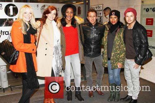 Liz Mcclarnon, B*witched, Heavenli Roberts and Honeyz