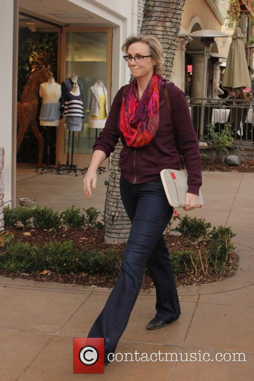 Jane Lynch Out Shopping At The Grove