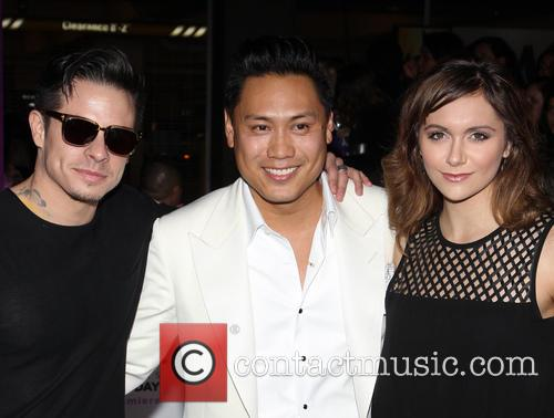 Casper Smart, Jon M. Chu and Alyson Stoner 2