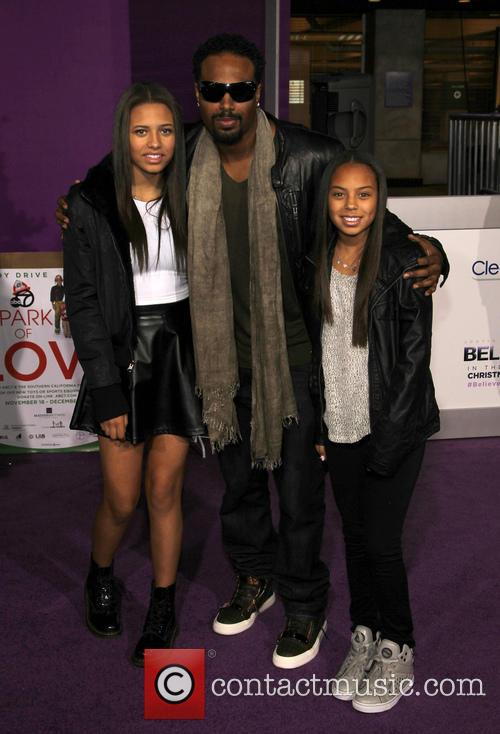 Shawn Wayans, Laila Wayans and Illia Wayans