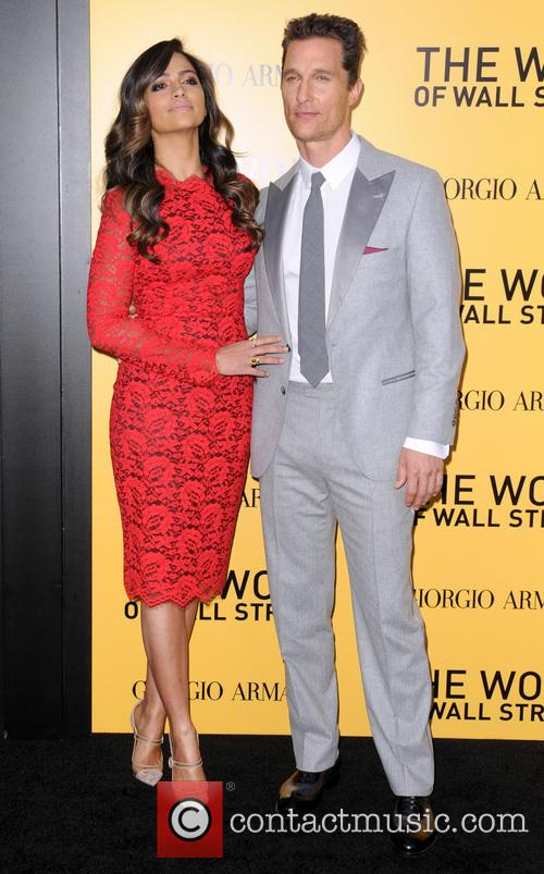 Camila Alves and Matthew McConaughey 4