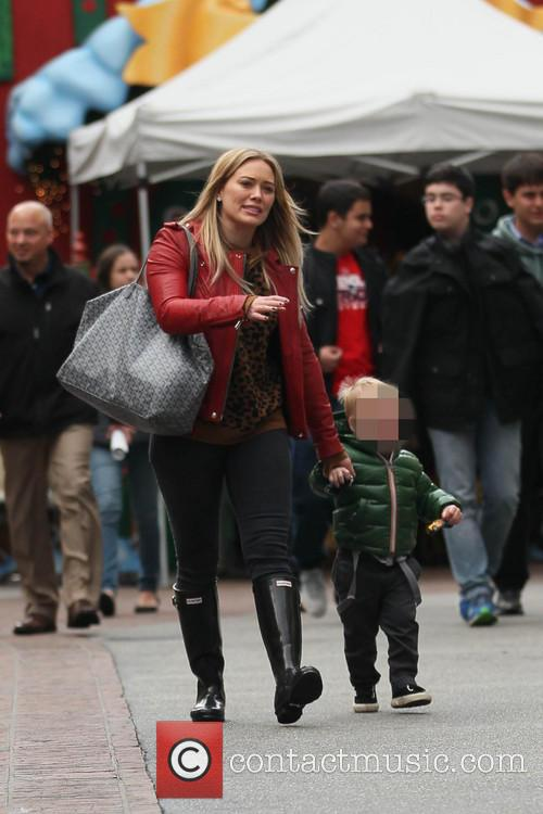 Hillary Duff and Luca 3