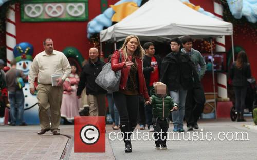 Hillary Duff and Luca 4