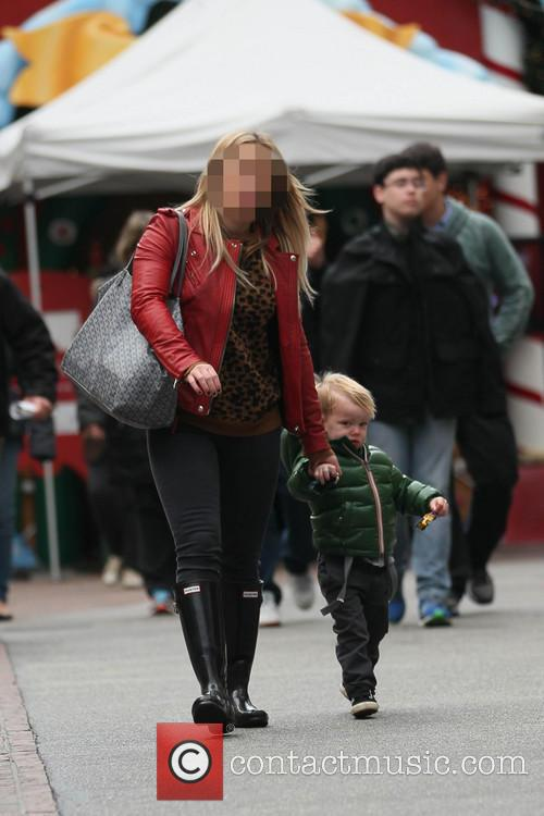 Hillary Duff and Luca 5