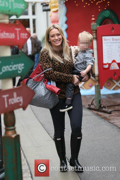Hillary Duff and Luca 6