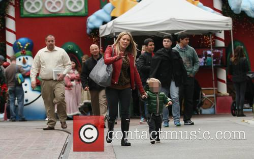 Hillary Duff and Luca 8