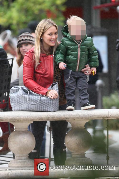 Hillary Duff and Luca 9