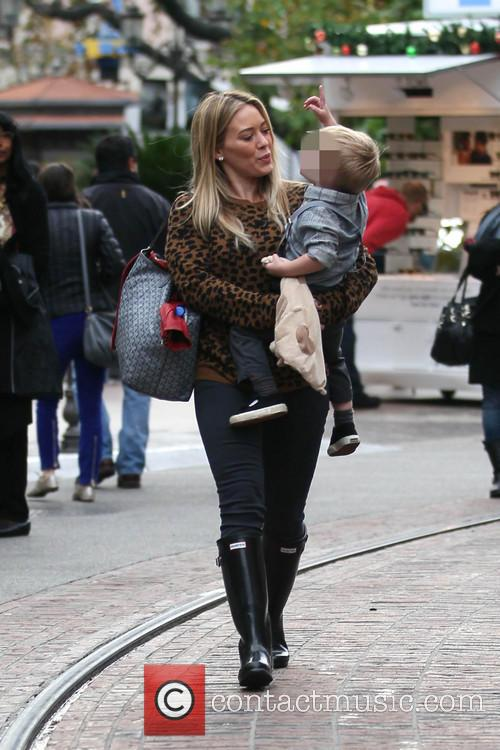 Hillary Duff and Luca 10