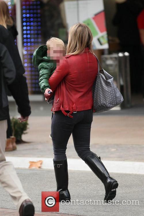 Hillary Duff and Luca 11