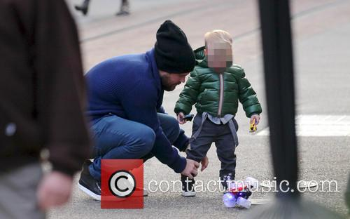 Hilary Duff And Family At The Grove