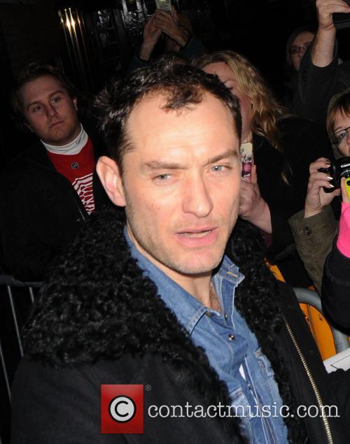 Jude Law At Noel Coward Theatre
