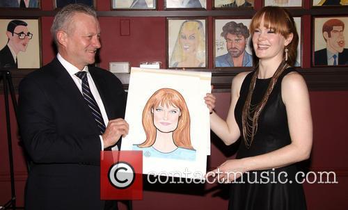 Kate Baldwin Receives Sardi's Portrait