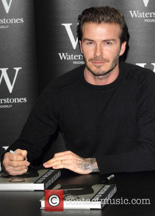 david beckham david beckham signing at waterstones 4003578