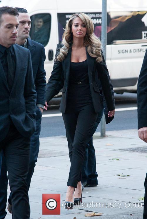 Tulisa at Court