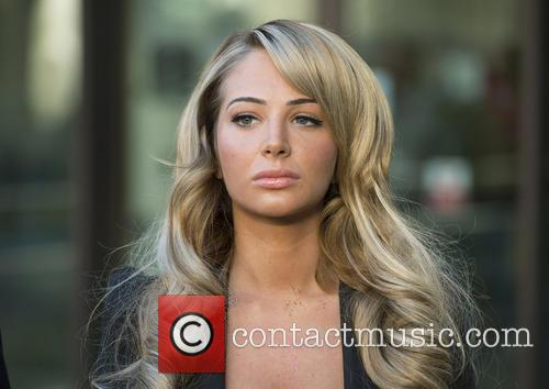 Tulisa Contostavlos leaves Westminster Magistrates Court