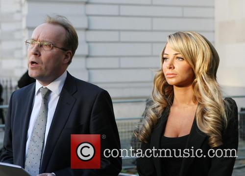 Tulisa Contostavlos at the Westminster Magistrate Court