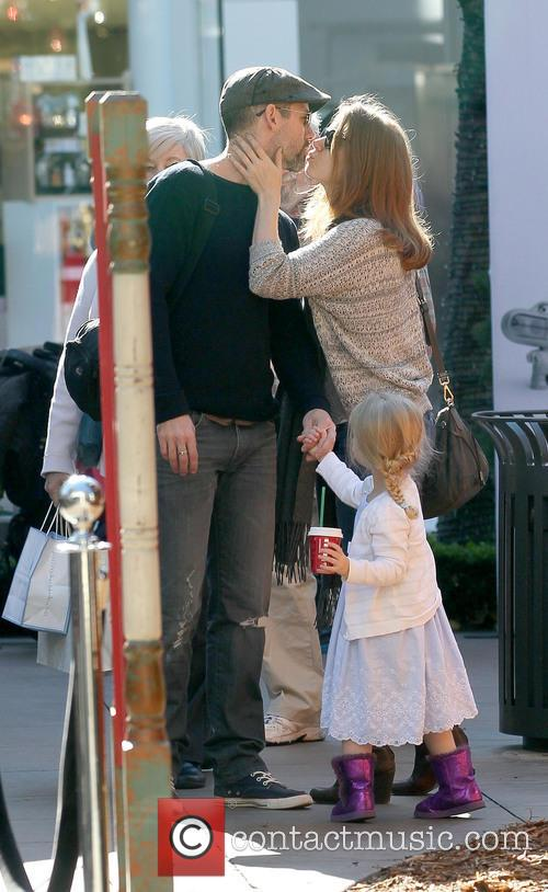 Amy Adams, Darren Le Gallo and Aviana Le Gallo 2