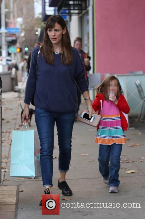 Jennifer Garner and Seraphina Affleck 6