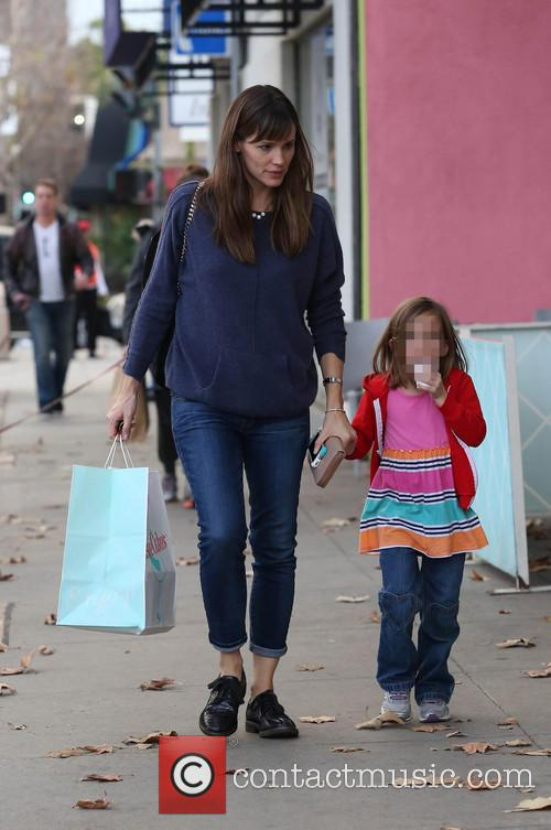 Jennifer Garner and Seraphina Affleck 8