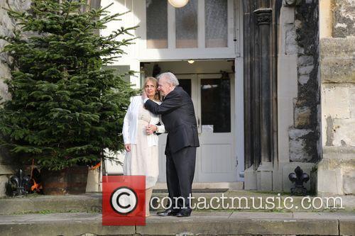 Leslie Philips marries