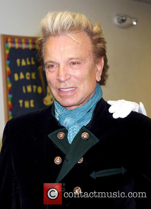 Siegfried & Roy host a Christmas party for...